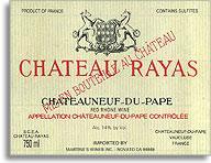 1995 Chateau Rayas Chateauneuf-du-Pape