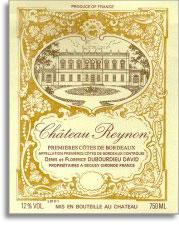 2012 Chateau Reynon Premieres Cotes De Bordeaux