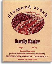 1999 Diamond Creek Vineyards Cabernet Sauvignon Gravelly Meadow Diamond Mountain