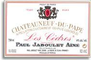 1997 Paul Jaboulet Aine Chateauneuf-du-Pape les Cedres