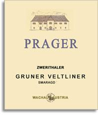 2009 Weingut Prager Gruner Veltliner Smaragd Zwerithaler