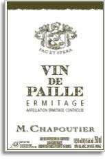 2010 Maison Chapoutier Ermitage Blanc Vin De Paille