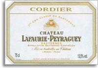 2001 Chateau Lafaurie Peyraguey Sauternes