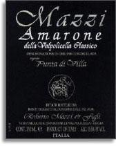 2010 Mazzi Amarone della Valpolicella Classico Punta di Villa