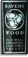 Vv Ravenswood Winery Zinfandel Old Hill Sonoma Valley