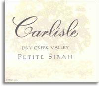 2010 Carlisle Winery Petite Sirah Dry Creek Valley