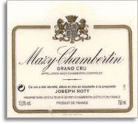 2011 Domaine Joseph Roty Mazy-Chambertin