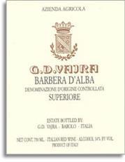 2010 G.D. Vajra Barbera d'Alba
