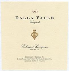 1999 Dalla Valle Vineyards Cabernet Sauvignon Napa Valley