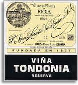 1998 R. Lopez de Heredia Vina Tondonia Reserva Blanco Rioja