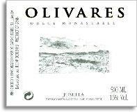 2011 Bodegas Olivaras Dulce Monastrell Jumilla