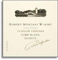 2010 Robert Mondavi Winery Fume Blanc To-Kalon Vineyard I Block Napa Valley