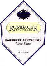 2013 Rombauer Vineyards Cabernet Sauvignon Diamond Mountain Selection