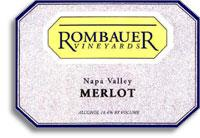2013 Rombauer Vineyards Merlot Carneros