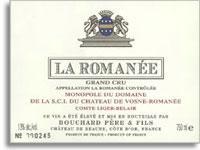 1997 Bouchard Pere Et Fils La Romanee