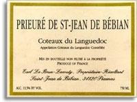 2001 Prieure de Saint-Jean de Bebian Coteaux du Languedoc