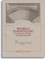 2004 Salicutti Brunello Di Montalcino Piaggione