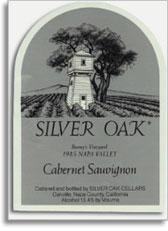 1991 Silver Oak Cellars Cabernet Sauvignon Bonny's Vineyard