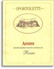 2008 Sportoletti Rosso Assisi