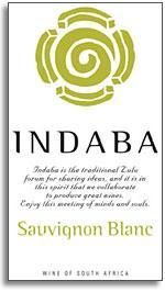 2013 Indaba Sauvignon Blanc Western Cape