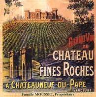 2012 Chateau des Fines Roches Chateauneuf-du-Pape