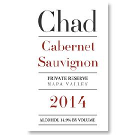 2014 Chad Cabernet Sauvignon Private Reserve Napa Valley
