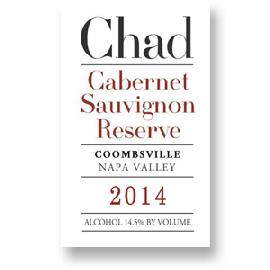 2014 Chad Cabernet Sauvignon Reserve Coombsville
