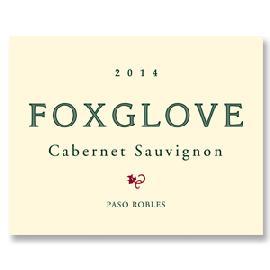 2014 Foxglove Cabernet Sauvignon Paso Robles