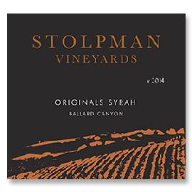 2014 Stolpman Vineyards Syrah Originals Estate Ballard Canyon