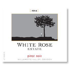 2014 White Rose Estate Pinot Noir Willamette Valley