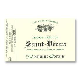 2015 Domaine Corsin Saint-Veran Tirage Precoce