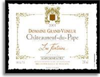 2006 Domaine Grand Veneur Chateauneuf-du-Pape Blanc La Fontaine