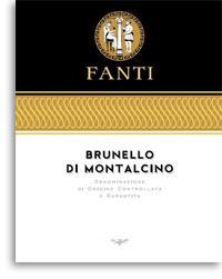 2001 Fanti Brunello Di Montalcino