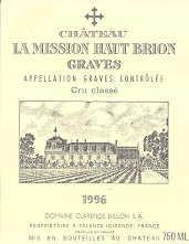 2009 Chateau La Mission Haut Brion Pessac Leognan