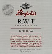 2002 Penfolds Wines Shiraz Rwt Barossa Valley