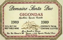 2011 Santa Duc Gigondas