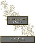 2004 Columbia Crest Winery Merlot Reserve Columbia Valley