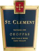 2006 St. Clement Vineyards Cabernet Blend Oroppas Napa Valley