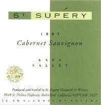 2003 St. Supery Cabernet Sauvignon Napa Valley