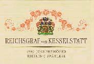 2007 Reichsgraf Von Kesselstatt Riesling Spatlese Scharzhofberger