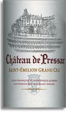 2005 Chateau De Pressac Saint Emilion Grand Cru Merlot