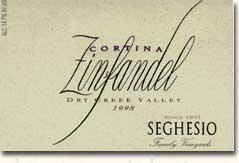 2010 Seghesio Family Vineyards Zinfandel Cortina Dry Creek Valley