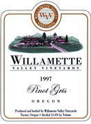 2014 Willamette Valley Vineyards Pinot Gris
