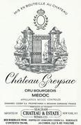 2003 Chateau Greysac Medoc
