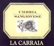 2011 La Carraia Sangiovese Umbria Rosso
