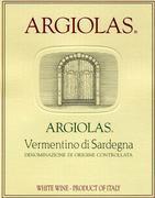 2014 Argiolas Vermentino di Sardegna Costamolino