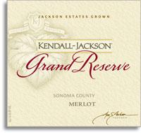 2013 Kendall-Jackson Merlot Grand Reseve Sonoma County