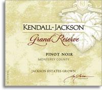 2011 Kendall-Jackson Pinot Noir Grand Reserve California