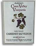 2004 Anderson's Conn Valley Vineyards Cabernet Sauvignon Napa Valley
