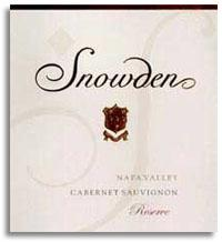 2010 Snowden Vineyard Cabernet Sauvignon Reserve Napa Valley